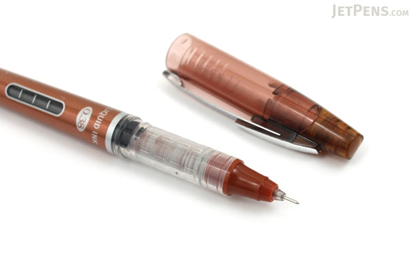 Morning Glory Mach 3 Rollerball Pen - 0.38 mm - Brown - MORNING GLORY MACH3 BROWN