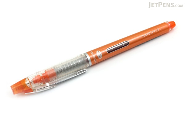 Morning Glory Mach 3 Rollerball Pen - 0.38 mm - Orange - MORNING GLORY MACH3 ORANGE