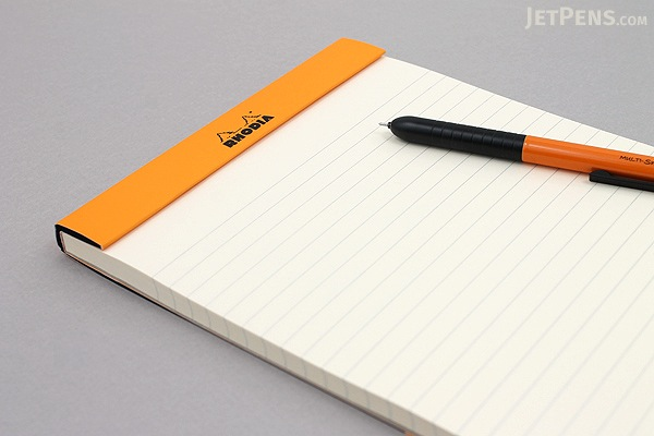 Rhodia R Premium Notepad No. 18 - A4 - Blank - Orange - RHODIA 182007