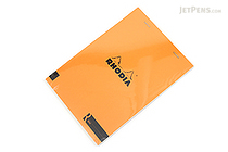 Rhodia R Premium Notepad No. 16 - A5  - Blank - Orange - RHODIA 162007