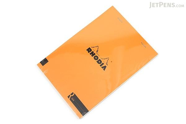 Rhodia R Premium Notepad No. 16 - A5  - Blank - Orange - RHODIA 162007