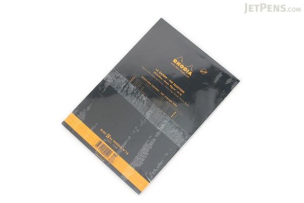 Rhodia R Premium Notepad No. 16 - A5  - Lined - Black - Bundle of 5 - RHODIA 162012 BUNDLE