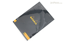 Rhodia R Premium Notepad No. 16 - A5  - Lined - Black - RHODIA 162012