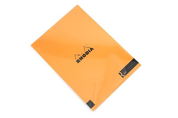 Rhodia R Premium Notepad No. 18 - A4 - Blank - Orange - RHODIA 182007