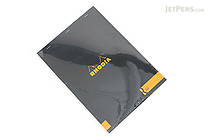 Rhodia R Premium Notepad No. 18 - A4 - Lined - Black - RHODIA 182012