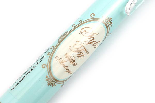 Uni Style Fit 5 Color Multi Pen Body Component - Antique Blue - Limited Edition - UNI UE5H258.ABL