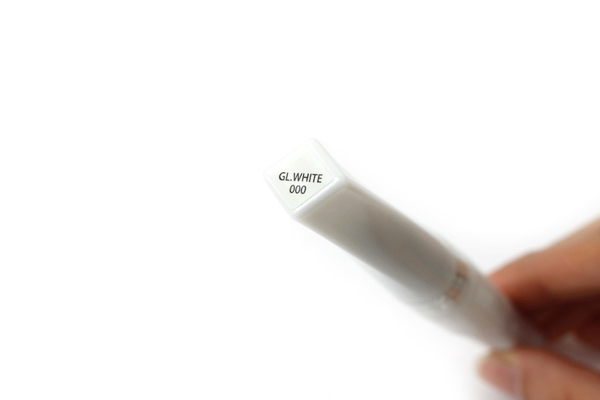 Kuretake Zig Wink of Stella Glitter Brush Pen - White - KURETAKE MS-55-000