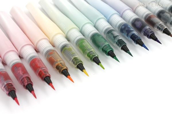 Kuretake Zig Wink of Stella Glitter Brush Pen - Green - KURETAKE MS-55-040