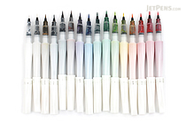 Kuretake Zig Wink of Stella Glitter Brush Pen - 16 Pen Bundle - JETPENS KURETAKE MS-55 BUNDLE