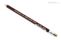 Ohto Wooden Mechanical Pencil - 0.5 mm - Dark Red - OHTO APS-280E-ENJI
