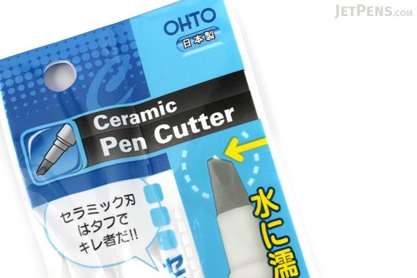 Ohto Pen-Style Ceramic Cutter - White Body - OHTO CP-25 WHITE