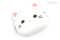 P+G Mimi Pochi Friends Case - White Cat - P+G MIMI MILK