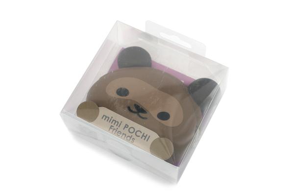 P+G Mimi Pochi Friends Case - Tanuki - P+G MIMI PON