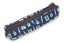 Miyamoto Collection Retro Komon Pen Case - Stationery - MIYAMOTO 07305