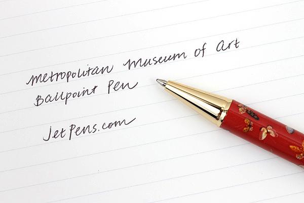 Metropolitan Museum of Art Ballpoint Pen - Medium Point - Qing Butterfly - MM 1722/QBY