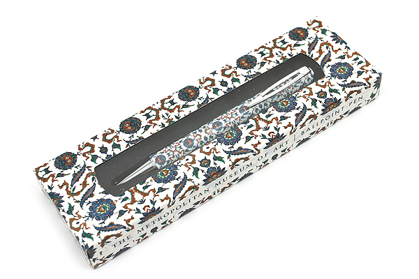 Metropolitan Museum of Art Ballpoint Pen - Medium Point - Iznik Tile - MM 1822/IZT
