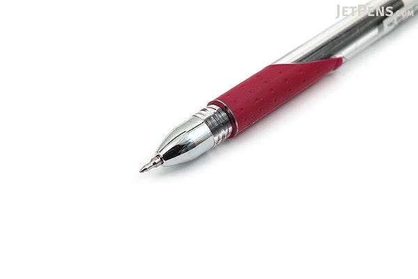 Yasutomo Y&C Gel Stylist Gel Ink Pen - 0.5 mm - Burgundy - YASUTOMO GS200H
