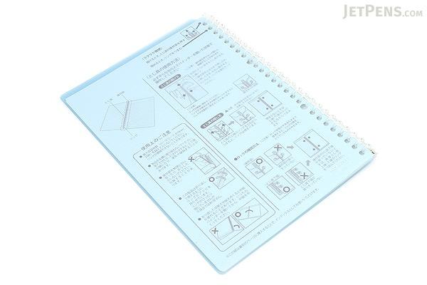 Kokuyo Campus Smart Ring Binder Notebook - B5 - 26 Rings - Light Blue - KOKUYO RU-SP700LB