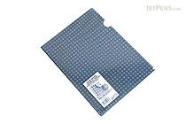 Kokuyo Clear Folder - Security View - A4 - Blue - KOKUYO FU-SS750B