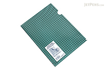 Kokuyo Clear Folder - Security View - A4 - Green - KOKUYO FU-SS750G