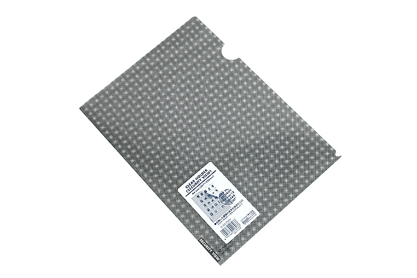 Kokuyo Clear Folder - Security View - A4 - Transparent - KOKUYO FU-SS750T