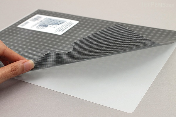 Kokuyo Clear Folder - Security View - A4 - Transparent - KOKUYO FU-SS750T