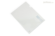 Kokuyo Clear Folder - Super Clear 10 - A4 - Smoke - KOKUYO FU-TC750N-1