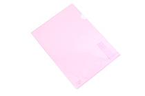 Kokuyo Clear Folder - Super Clear 10 - A4 - Lavender - KOKUYO FU-TC750N-5