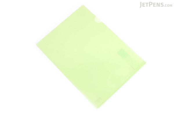 Kokuyo Clear Folder - Super Clear 10 - A4 - Light Green - KOKUYO FU-TC750N-8
