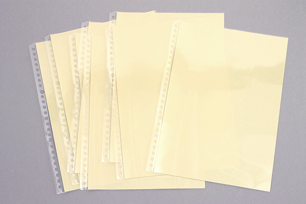 Kokuyo Campus Clear Pocket - B5 - 26 Holes - 8 Sheets - KOKUYO NO-881