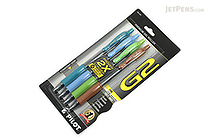 Pilot G2 Gel Pen - 0.7 mm - 4 Color Set - PILOT G27C4004