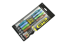 Pilot G2 Gel Pen - 0.7 mm - 4 Color Set - PILOT 31197