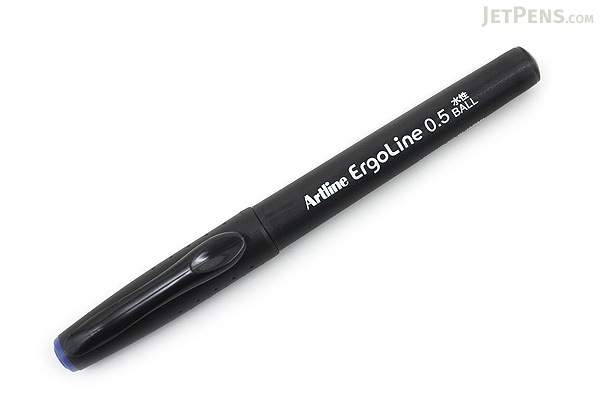 Shachihata Artline Ergoline Rollerball Pen - 0.5 mm - Blue - SHACHIHATA K-4200 BLUE