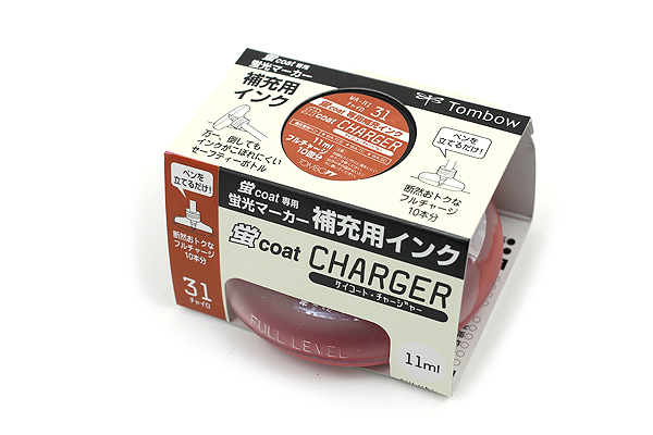 Tombow Kei Coat Highlighter Ink Charger - Brown - TOMBOW WA-RI 31