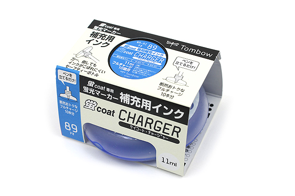 Tombow Kei Coat Highlighter Ink Charger - Blue - TOMBOW WA-RI 89