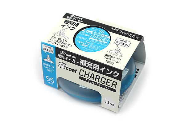 Tombow Kei Coat Highlighter Ink Charger - Sky Blue - TOMBOW WA-RI 96