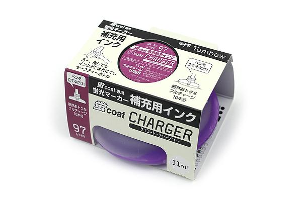 Tombow Kei Coat Highlighter Ink Charger - Purple - TOMBOW WA-RI 97