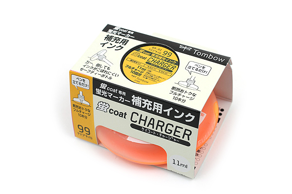Tombow Kei Coat Highlighter Ink Charger - Golden Yellow - TOMBOW WA-RI 99