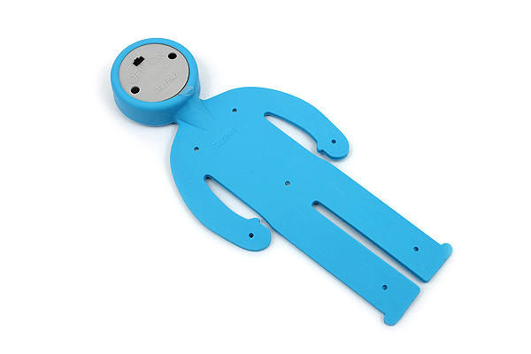 Raymay Light Man Bendable Book Light - Blue - RAYMAY LTM130A