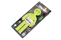 Raymay Light Man Bendable Book Light - Green - RAYMAY LTM130M