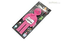 Raymay Light Man Bendable Book Light - Pink - RAYMAY LTM130P
