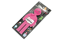 Raymay Light Man Bendable Book Light - Pink - RAYMAY LTM130P