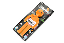 Raymay Light Man Bendable Book Light - Orange - RAYMAY LTM130D