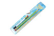 Sun-Star Knock Free Sharp Mechanical Pencil + Leads - 0.7 mm - Green - SUN-STAR 4446-992