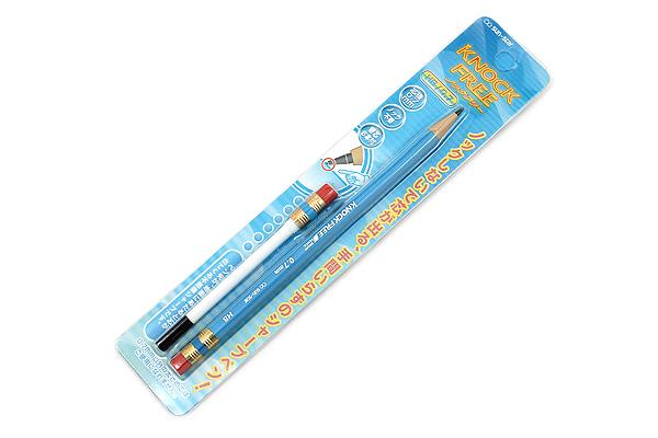 Sun-Star Knock Free Sharp Mechanical Pencil + Leads - 0.7 mm - Light Blue - SUN-STAR 4447-000