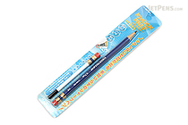 Sun-Star Knock Free Sharp Mechanical Pencil + Leads - 0.7 mm - Blue - SUN-STAR 4446-968