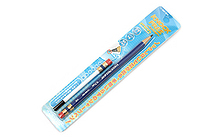 Sun-Star Knock Free Sharp Mechanical Pencil + Leads - 0.7 mm - Blue - SUN-STAR 4446-968