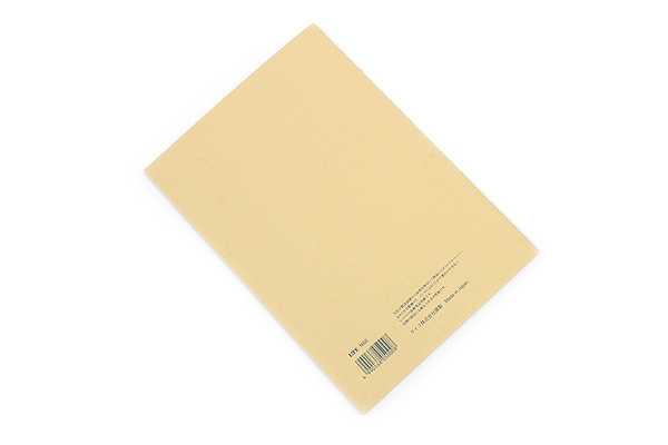 Life Vermilion Notebook - B6 - Graph - LIFE N66