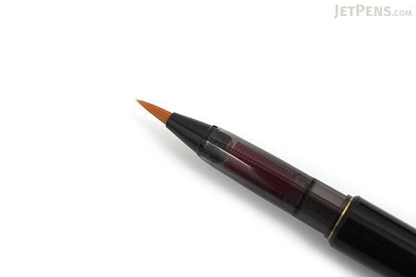 Akashiya Bamboo Body Brush Pen - AK2000 - Black Body - AKASHIYA AK2000UP-BK