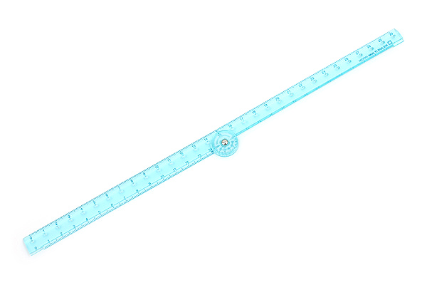 Midori Multi Ruler - 30 cm - Blue - MIDORI 42239-006